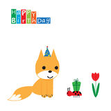 Birthday card Royalty Free Stock Image