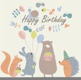 Birthday card Stock Photos