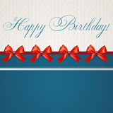 Birthday card Royalty Free Stock Photography