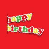 Birthday Card, Flyer or Cover Design Stock Images