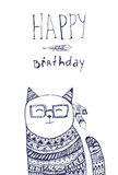 Birthday card Stock Photography