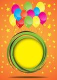 Birthday card. Vector Royalty Free Stock Photo