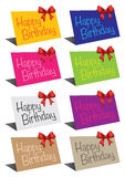 Birthday cards Royalty Free Stock Photos