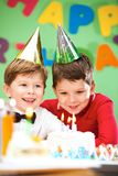 Birthday celebration Royalty Free Stock Photo