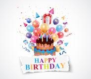 Birthday celebration background Stock Photo