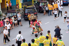 Birthday Celebration of Deity Kong Teck Choon Ong Royalty Free Stock Photo