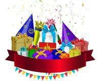 Birthday celebration Stock Images