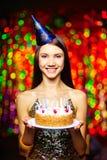 Birthday celebration Royalty Free Stock Image