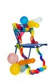 Birthday chair Stock Photo
