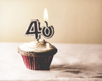 40 Birthday Royalty Free Stock Photography