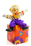 Birthday clown Stock Images