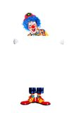 Birthday clown  full length Royalty Free Stock Photo