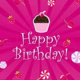 Birthday Color Card Stock Photo