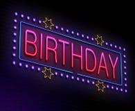 Birthday concept. Stock Photos
