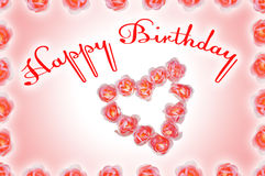 Birthday congratulation Royalty Free Stock Photos