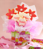 Birthday Cookie Bouquet Royalty Free Stock Photos