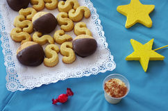 Birthday Cookies Royalty Free Stock Image