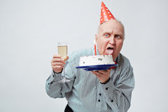 Birthday craze Royalty Free Stock Photos