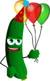 Birthday cucumber or pickle Stock Image
