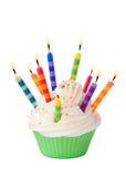 Birthday cupcake Royalty Free Stock Image