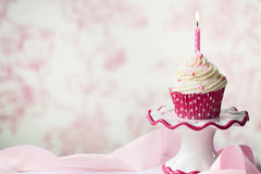 Free Birthday Cupcake Royalty Free Stock Photography - 18950177