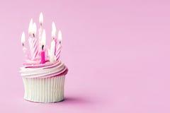 Birthday cupcake Royalty Free Stock Photography