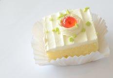 Birthday cupcake Stock Image