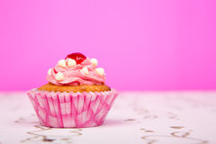 Birthday cupcakes. Royalty Free Stock Images