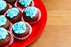 Birthday Cupcakes Stock Photography