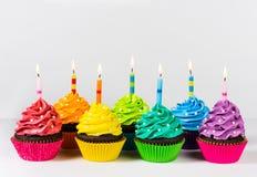 Birthday Cupcakes Royalty Free Stock Photos