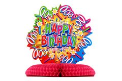 Birthday decoration Stock Images