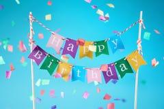 Birthday decoration Stock Photos