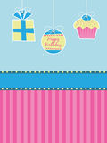 Birthday decorations Royalty Free Stock Photography