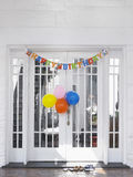 Birthday Decorations At House Stock Photography