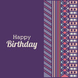 Birthday design Stock Image
