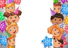 kids holding happy birthday banner stock illustrations 189 kids