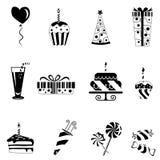 Birthday design elements Stock Photo