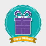 Birthday design Royalty Free Stock Photo