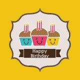 Birthday design Royalty Free Stock Photos
