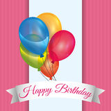 Birthday design Royalty Free Stock Photos
