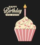 Birthday design Stock Image