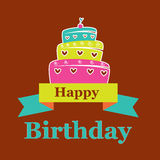 Birthday design Stock Images