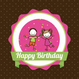 Birthday design Royalty Free Stock Images