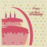 Birthday design Stock Photos