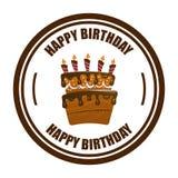 Birthday design Stock Photo