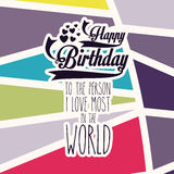Birthday design Royalty Free Stock Photography