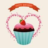 Birthday design Royalty Free Stock Image