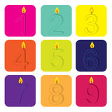 Birthday design Stock Images