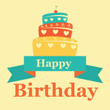 Birthday design Stock Photography