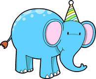 Birthday Elephant Stock Images